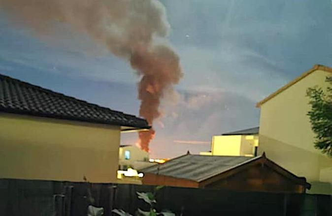 Borgo : La remorque d'un club hippique détruite par un incendie