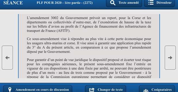 Le député Michel Castellani obtient le maintien de la détaxe sur les billets d'avion pour la Corse et l'Outre-Mer