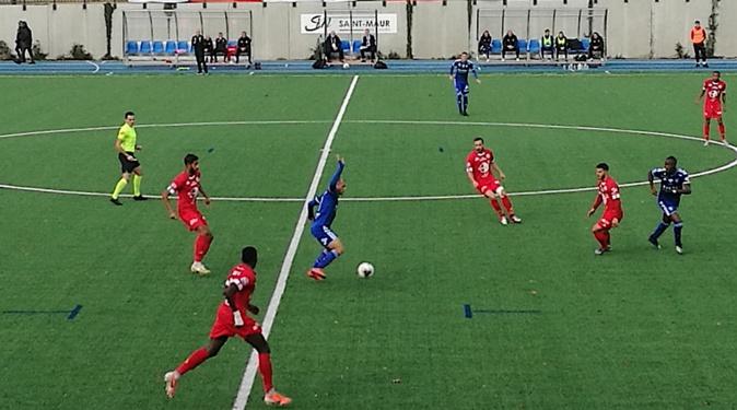 Le Sporting s'incline à Saint-Maur (1-2)