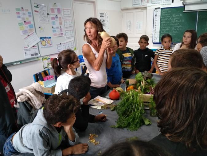 """""""Un goûter presque parfait"""" dans la continuité de  la Semaine du goût à l'École M-D.Loviconi de Calvi"""