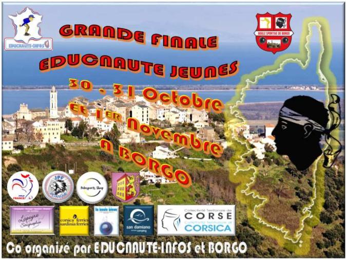 Pétanque: La Grande finale Educnaute débute à Borgo