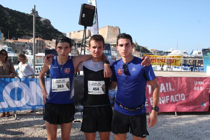 le podium de Trail de Bonifacio 2019