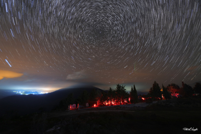 EN IMAGE - La nuit des morts au-dessus de Carbini