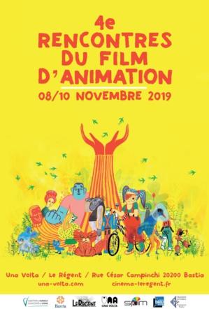 Bastia : les 4èmes rencontres du film d'animation du 8 au 10 novembre