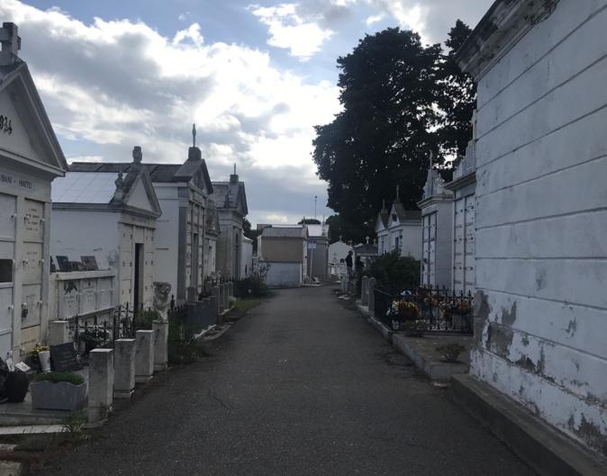 Le cimetière de Bastia
