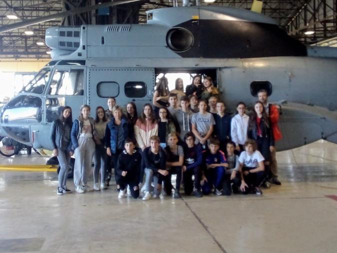 Les lycéens et collégiens de l'Extreme Sud à la découverte de la base aérienne 126