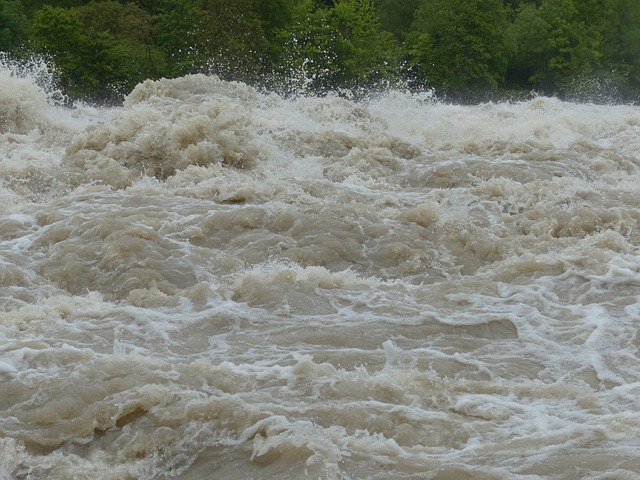 Fortes pluies : Le barrage de Sampolo en état de crue