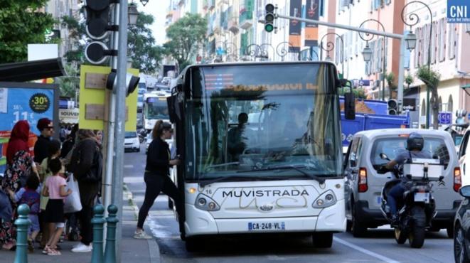 Ajaccio : le réseau Muvistrada