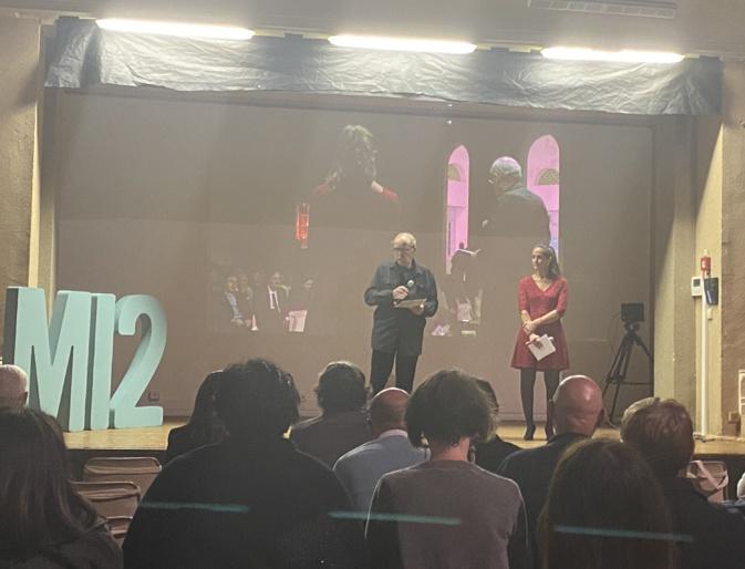 Paul-Marie Romani, président de l'Université de Corse ouvre cette 4ème édition du concours.