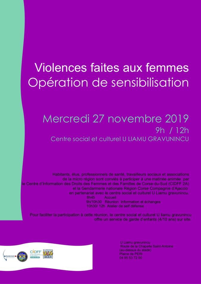 Peri : Une journée de mobilisation contre les violences faites aux femmes