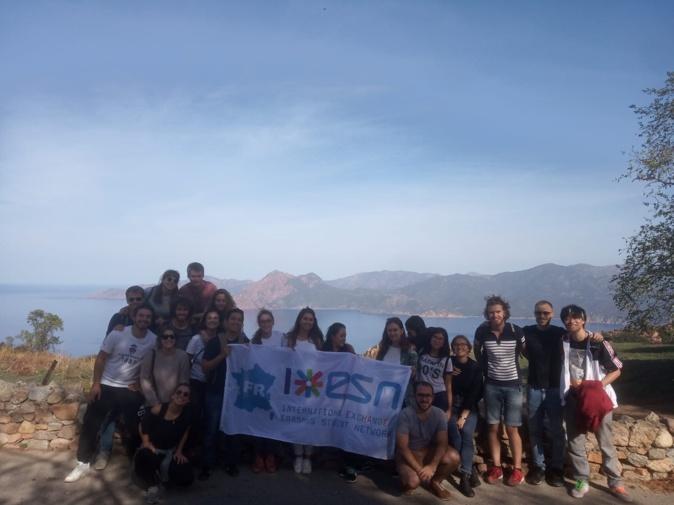 ESN Corsica : un regard sur l'international au sein de l'Université de Corse