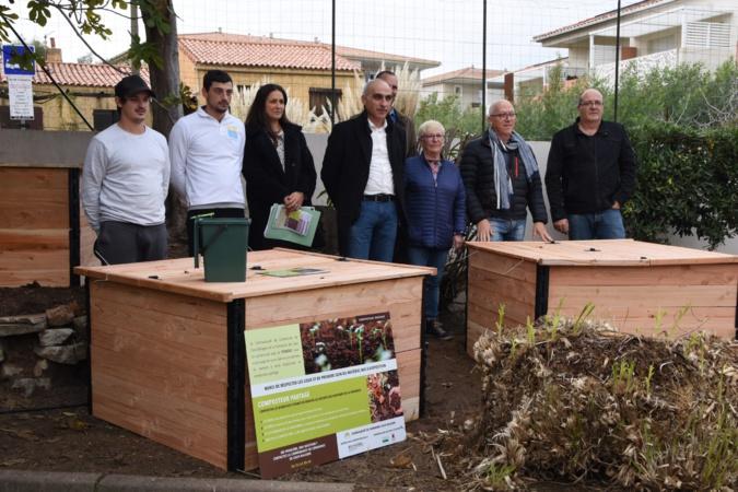 Un nouveau composteur partagé pour la Com'com Calvi Balagne