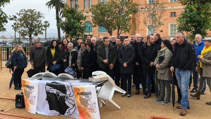 """Le """"parking"""" Campinchi objet de controverse entre Pà Aiacciu et Ajaccio Le  Mouvement"""