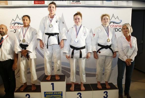 """Judo : trois athlètes corses sur le podiums et 5 classés au tournoi d""""Agde"""