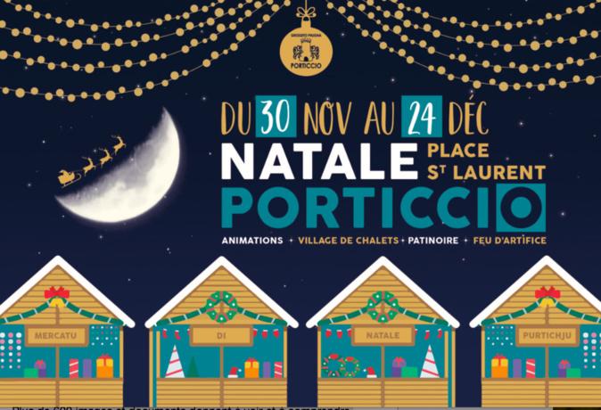 Ouverture en fête du marché de Noël de Porticcio ce samedi 30 novembre