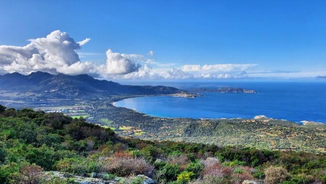 La photo du jour : Occi, vue imprenable sur la baie de Calvi