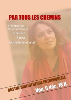 Récital et poésies en langues régionales à la bibliothèque Prelà de Bastia ce vendredi