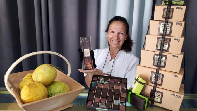 A la demande des organisateurs, Josiane Colomb-Bereni a accepté d'être la marraine du salon du chocolat d'Ajaccio des 13, 14 et 15 décembre