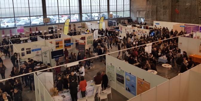 1 200 lycéens de Corse au 7e salon de formation et de l'orientation de l'universita di Corsica Pasquale Paoli