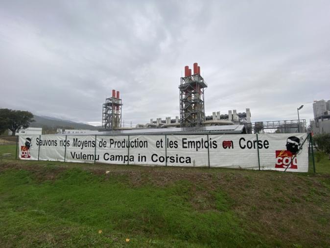 Deux moteurs de la centrale de Lucciana sont arrêtés depuis ce jeudi 5 décembre.