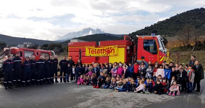 Les pompiers de Ponte-Leccia ont relevé le défi du Téléthon
