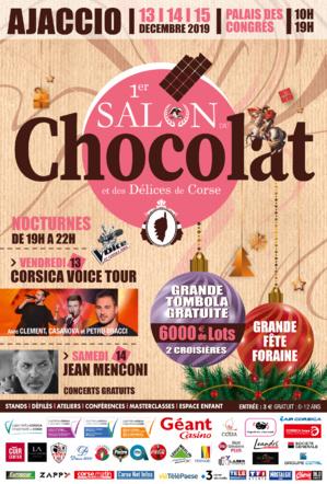Le Salon du chocolat et des délices de Corse s'installe à Ajaccio