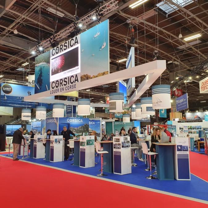La Corse bien représentée au Salon nautique international de Paris