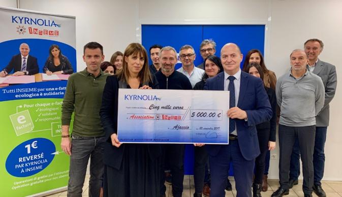 Kyrnolia et Inseme, partenaires pour la bonne cause