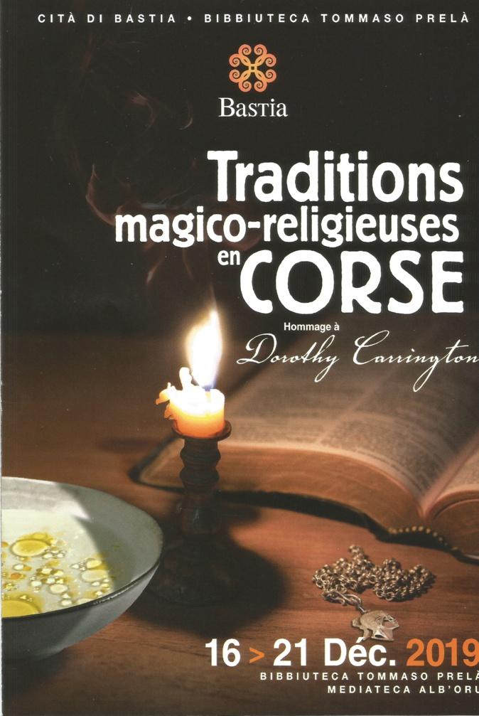 Bastia : Une semaine sur les traditions magico-religieuses en Corse