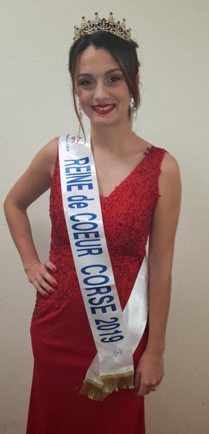 Angelina Scaniglia, concourra pour la couronne de Miss reine de cœur France le 18 janvier à Montpellier.