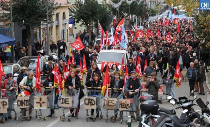 Ajaccio : La manifestation en images