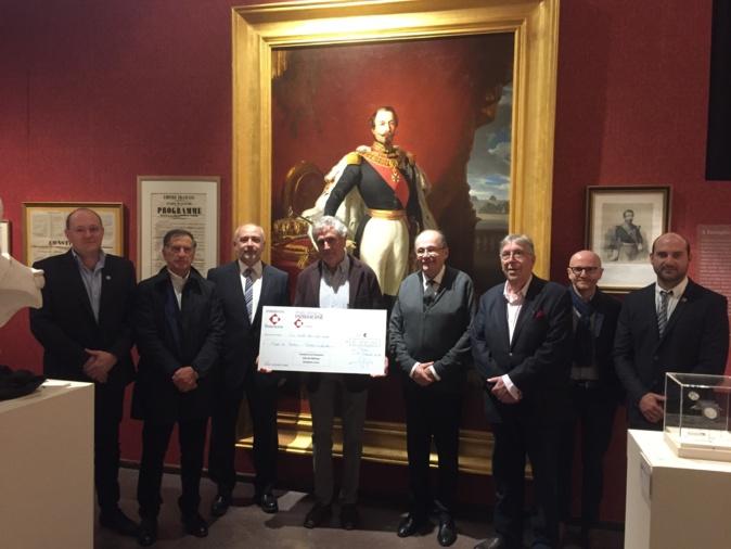 Le Club des Mécènes a permis la restauration de ce beau tableau représentant Napoléon III