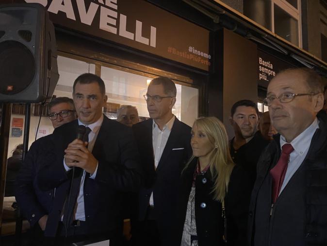 VIDEO-Municipales 2020 à Bastia : Pierre Savelli inaugure sa permanence