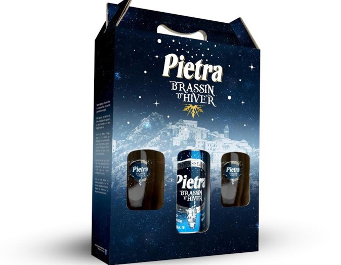 Pietra brassin d'hiver, médaille d'or au Brussels Beeer Challenge  2019 !