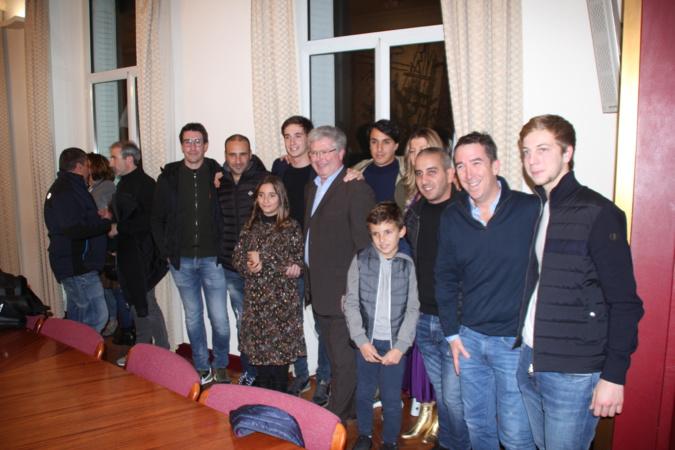Pierre-Louis Loubet reçoit la médaille d'or de la Ville de Porto-Vecchio