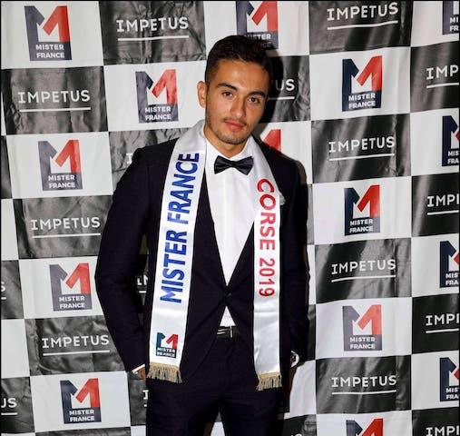 Mister France : votez pour que le candidat corse gagne !
