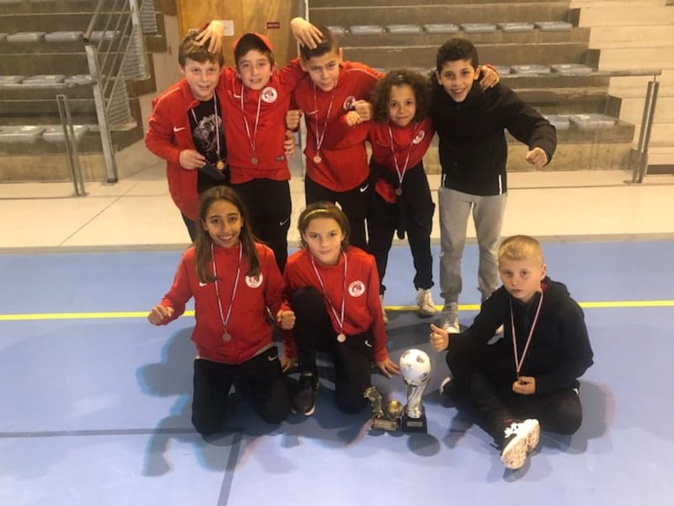 De gauche à droite : Haut : Andria Valery, Amine Couissi, Fabio Lubrano, Marc Bernardini Bas : Pierre-Marie Innocenti, Ilyès El Mahi, Livio Montebello