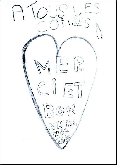 Le témoignage d'amour de Yanis aux Corses pour 2020