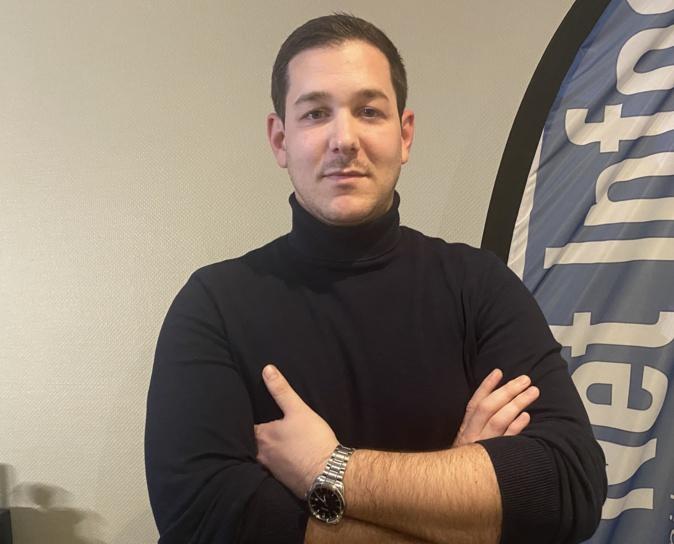 Lisandru Colombani, chef de service à l'ANPAA 2B.