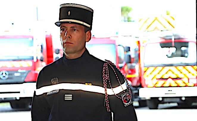 Le Capitaine Stéphane Orticoni a pris la tête du Centre d'Incendie et de Secours de Calvi