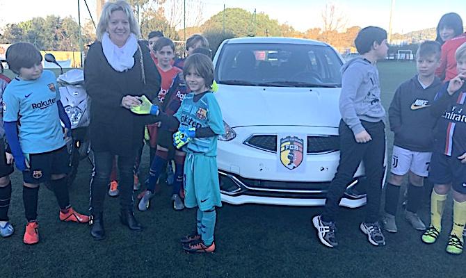 Les gros lots du loto du FC Balagne remis au stade Jacques-Ambrogi