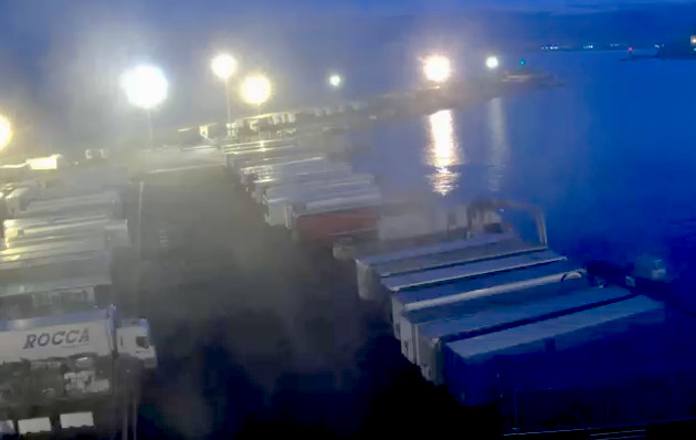 Le port de Bastia vendredi soir (ccihc)