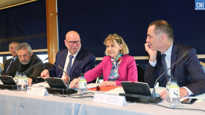 Jean Dominici élu à la présidence de la nouvelle chambre régionale de commerce et d'industrie de Corse