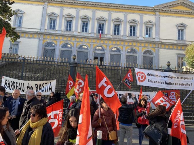 Bastia : Nouvelle mobilisation contre la réforme des retraites