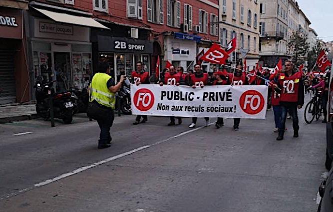 Réforme des retraites : la protestation continue à Bastia