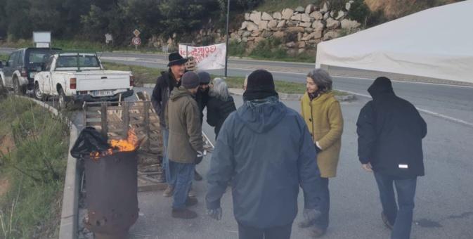 Syvadec : plusieurs mesures destinées à favoriser le déblocage du site d'enfouissement de Viggianello par le collectif Valincu Lindu