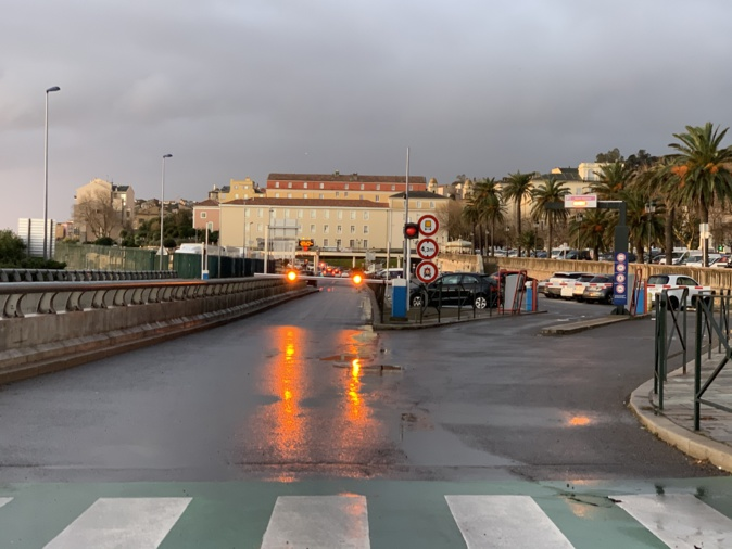 Le tunnel de Bastia fermé après un accident de la circulation
