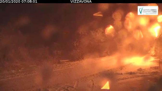 Neige : Le Col de Vizzavona fermé aux poids lourds et bus