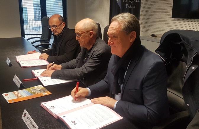 Université et SIS de Corse unis pour préserver l'île des grands incendies