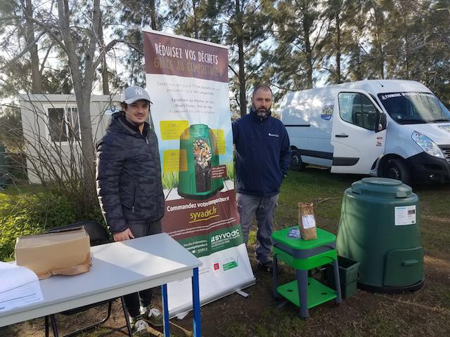 Zéro déchets.  Distribution de composteurs et de lombricomposteurs sur le territoire de Marana-Golo